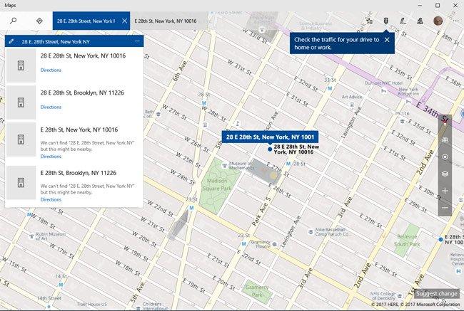 Bing Maps/Windows Maps