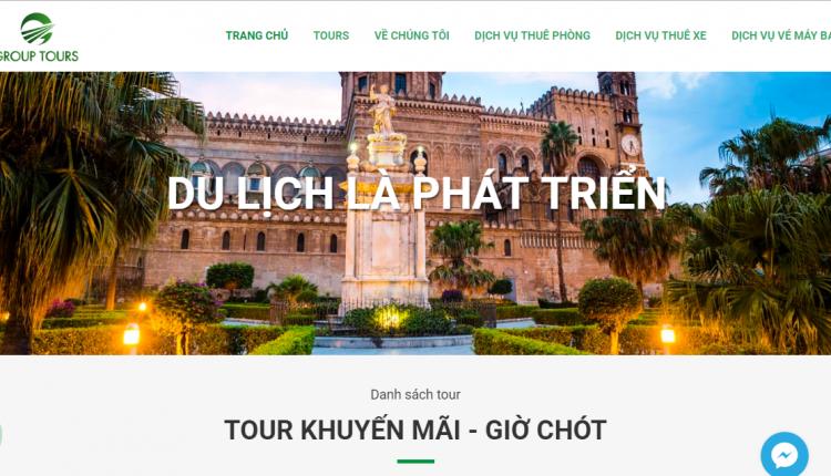 Top 10 mẫu web du lịch đẹp mắt, độc đáo, thu hút người dùng