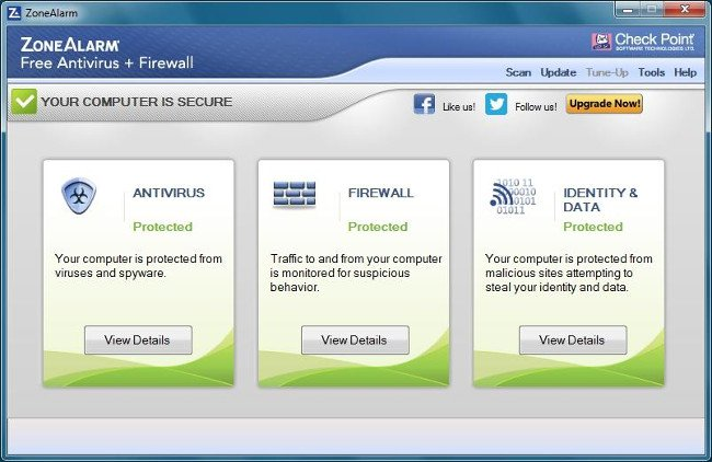 ZoneAlarm Free Firewall by Check Point