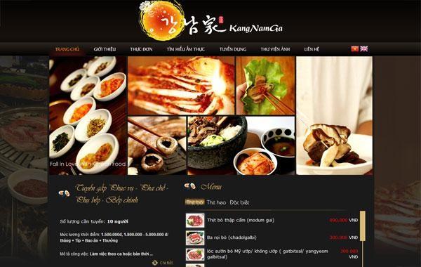 Một thiết kế web nhà hàng chuẩn mang lại lợi thế gì?