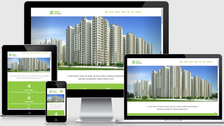 Làm web bất động sản