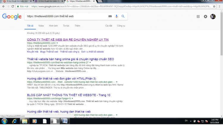 Thủ thuật tìm kiếm trên Google nhanh bạn nên biết