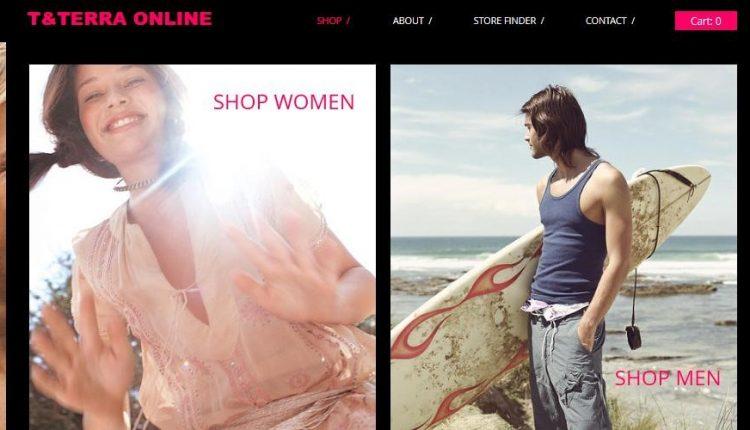 17 mẫu web quần áo thời thượng, giúp ra đơn hàng miên miết