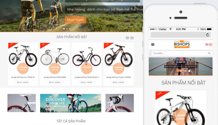 Giao diện web đẹp hỗ trợ gì cho công việc kinh doanh của bạn