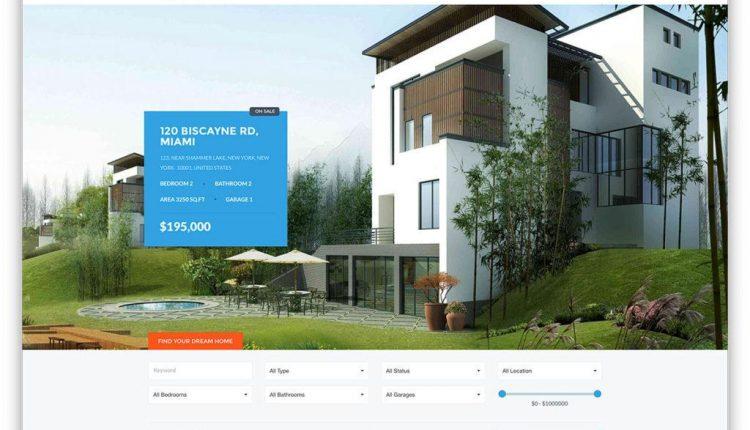 7 mẫu web bất động sản thời thượng được ưa chuộng hiện nay