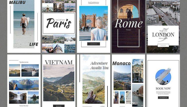 5 mẫu theme du lịch khiến phượt thủ sốt xình xịch vào mỗi mùa du lịch