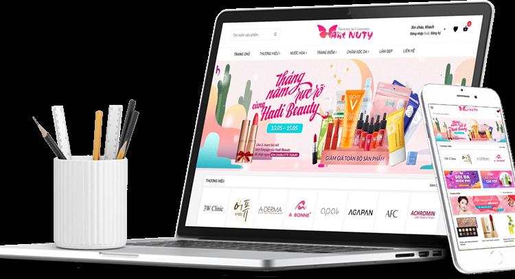 Website mỹ phẩm, 3 theme khiến khách hàng nhìn một lần là tin tưởng