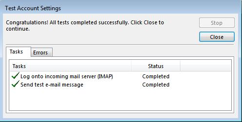 Hướng dẫn cài đặt email server trên outlook